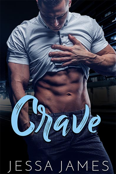 book cover for Crave by Jessa James
