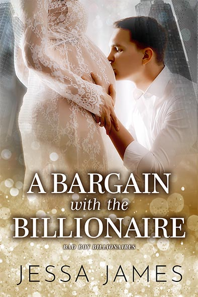 book cover for A Bargain with the Billionaire by Jessa James