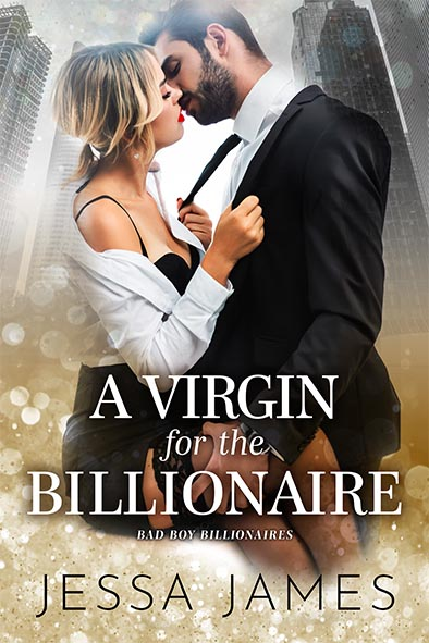 book cover for A Virgin for a Billionaire by Jessa James