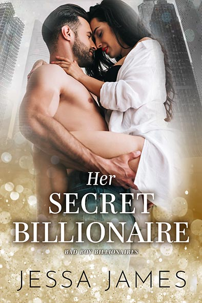 book cover for Her Secret Billionaire by Jessa James
