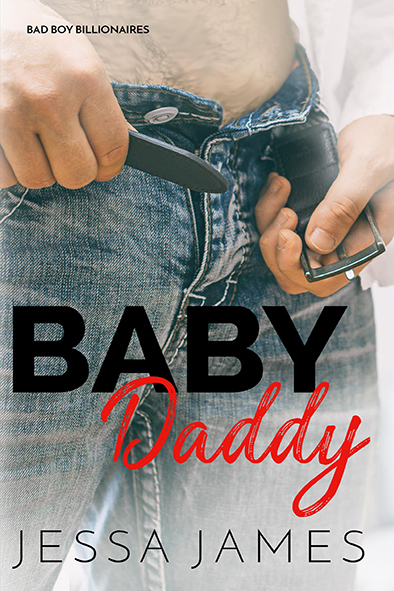 book cover for Baby Daddy by Jessa James