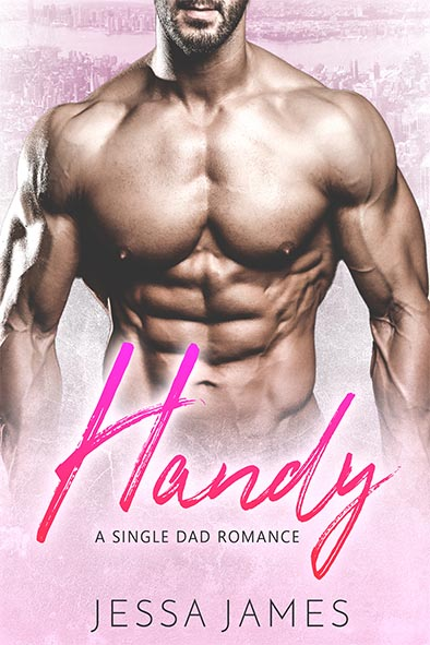 book cover for Handy by Jessa James