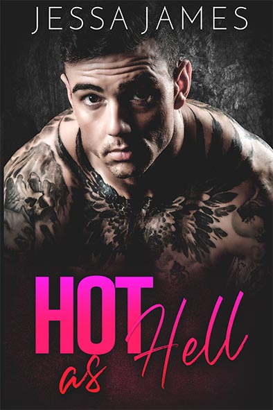 book cover for Hot as Hell by Jessa James