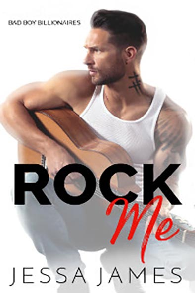 book cover for Rock Me by Jessa James