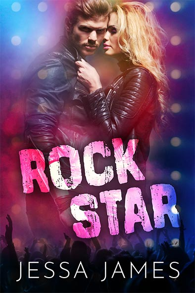 book cover for Rock Star by Jessa James