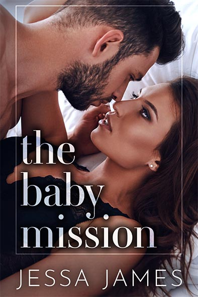 book cover for The Baby Mission by Jessa James