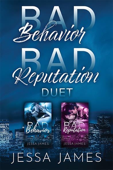 cover for Bad Behavior Bad Reputation Duet by Jessa James