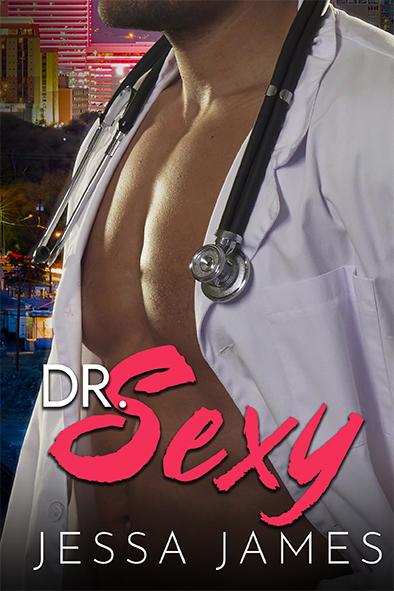 couverture de livre pour Dr. Sexy par Jessa James