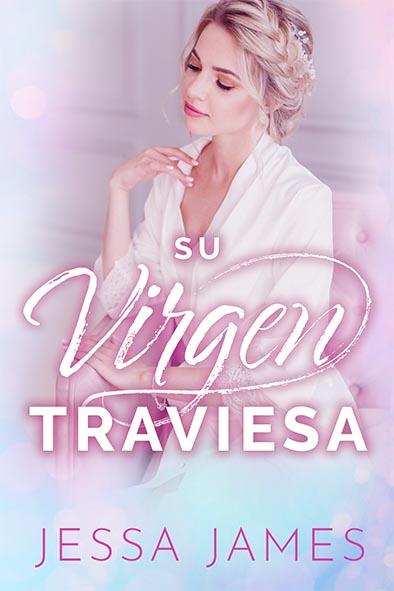 tapa del libro para Su virgen traviesa por Jessa James