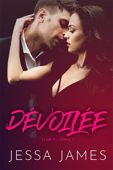 couverture de livre pour Dévoilée par Jessa James
