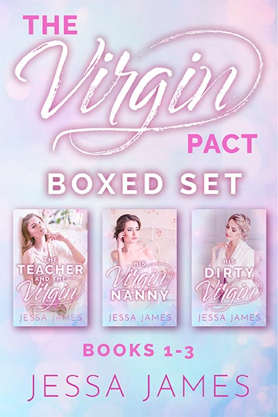 book cover for The Virgin Pact Boxed Set by Jessa James