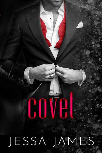 book cover for Covet by Jessa James