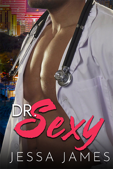 tapa del libro para Dr. Sexy por Jessa James