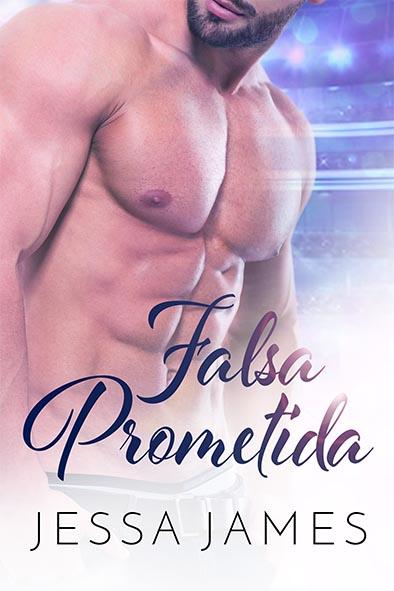 tapa del libro para Falsa prometida por Jessa James