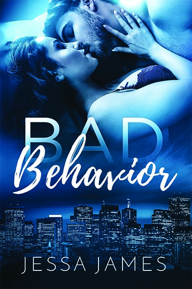 book cover for Bad Behavior by Jessa James