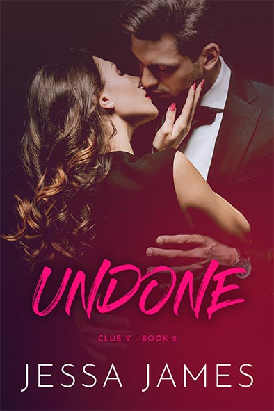 book cover for Undone by Jessa James