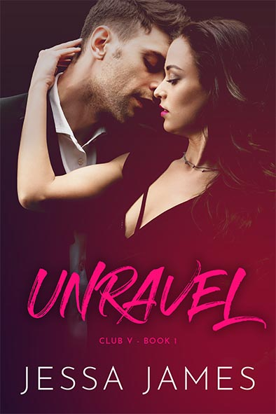 book cover for Unravel by Jessa James